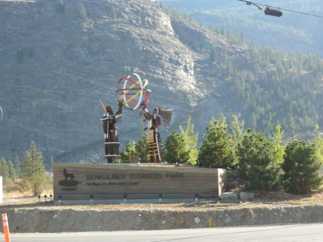 Senkulmen Industrial Park, Gallagher Lake, Osoyoos Indian Band