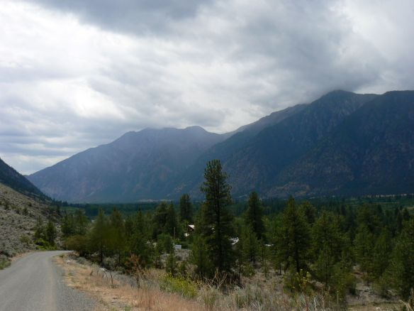 Looking across the border in the Lower Similkameen