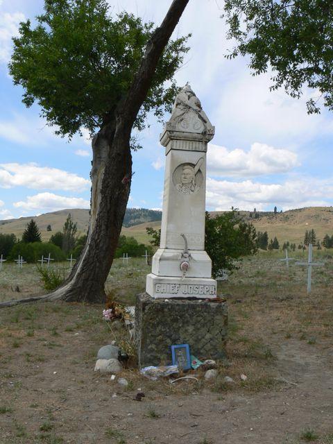 Chief Joseph's Grave at Nespelem, WA.