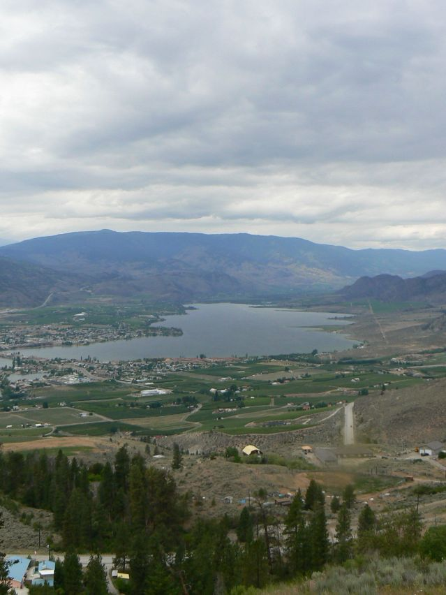 Osoyoos from Anarchist Mountain