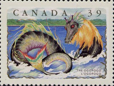 canada ogopogo stamp