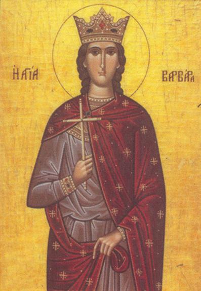 Saint-Barbara-Grk-ikon