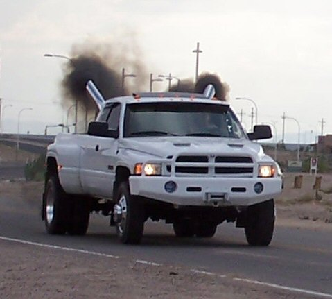 diesel-truck-stack-pipes-smoke-burnout