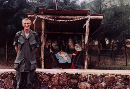 "Maryknoll Father Vincent R. Capodanno, a Navy chaplain who was killed while serving with the Marines in Vietnam, is pictured in an undated photo. As the priest's sainthood cause gathers momentum, he priest was remembered at a Sept. 4 memorial Mass in Washington as a man ""completely dedicated to the spiritual care of his Marines."" (CNS photo/courtesy Maryknoll Fathers and Brothers) (Sept. 5, 2013) See CAPODANNO Sept. 5, 2013."