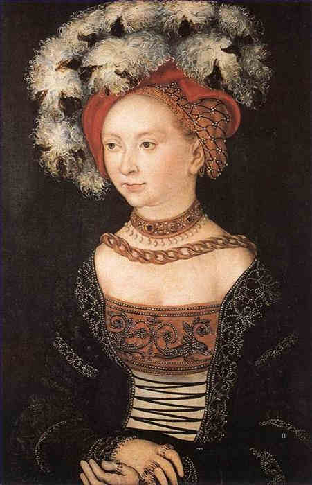 4-portrait-of-a-young-woman-renaissance-lucas-cranach-the-elder