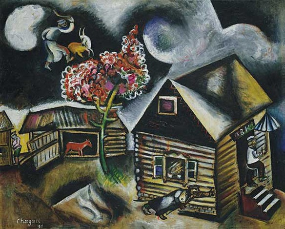 chagall-rain-1911