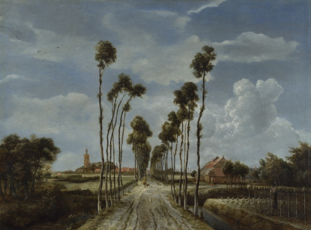 Full title: The Avenue at Middelharnis Artist: Meindert Hobbema Date made: 1689 Source: http://www.nationalgalleryimages.co.uk/ Contact: picture.library@nationalgallery.co.uk Copyright ?The National Gallery, London