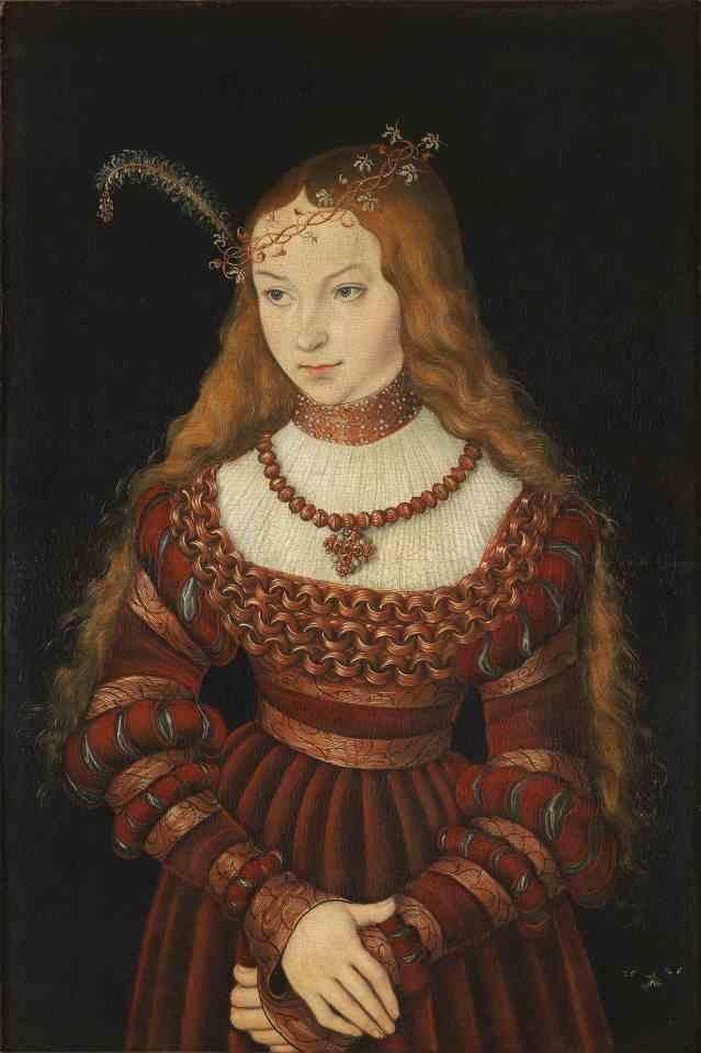 smLucas_Cranach_d.Ä._-_Bildnis_der_Prinzessin_Sibylle_von_Cleve_(1526,_Klassik_Stiftung_Weimar)