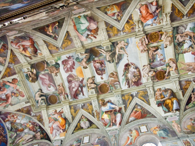 Plafond de la Chapelle Sixtine