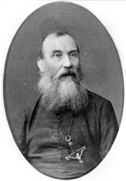 Father Charles Pandosy, OMI, Nov. 21, 1824 - Feb. 6, 1891. -ridge of Faith, Oblate supplement