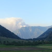Fire in the Similkameen