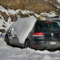 Mid-Winter Avalanche in Vernon